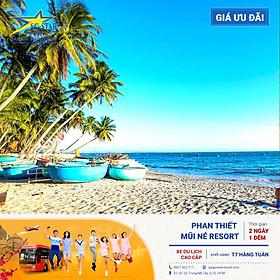 Tour Sài Gòn Đi PHAN THIẾT - MŨI NÉ 2N1Đ -  Resort Cao Cấp - Núi Tà Cú - Tượng Phật Nằm dài 49m - Tiệc BBQ Hải Sản