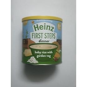 Bột ăn dặm gạo và rau cũ xay nhuyễn heinz (240gr)