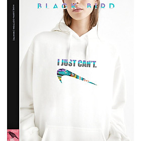 HOODIE NAM NỮ H16 - I JUST CAN'T