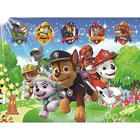 Tranh ghép gỗ 40 mảnh - Đội chó cứu hộ
