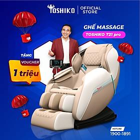 Ghế massage trị liệu toàn thân Toshiko T21 pro