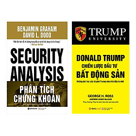 Combo Phân Tích Chứng Khoán + Donald Trump - Chiến Lược Đầu Tư Bất Động Sản (Tái Bản 2018)(2 Cuốn)