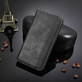 Bao da dạng ví, nam châm dành cho LG G7 ThinQ Luxury Leather Case - Hàng nhập khẩu