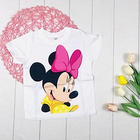 Áo Thun chuột Micky cho bé gái