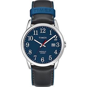 Đồng Hồ Dây Da Nam Timex Easy Reader Color Pop 38mm - TW2R62400
