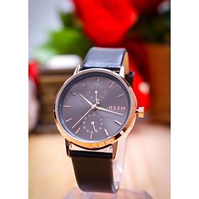 Đồng hồ nữ Julius Hàn Quốc JA-1159 dây da có lịch