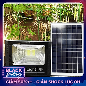 Đèn pha năng lượng mặt trời Solar Light 60W