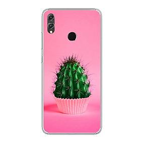 Ốp lưng dẻo cho điện thoại Huawei Honor 8X - 0753 CACTUS03 - Hàng Chính Hãng