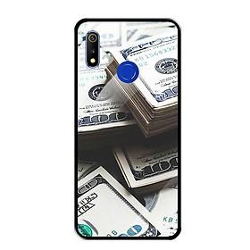 Ốp Lưng Kính Cường Lực cho Realme 3 Pro - 0493 Dollar01 - Hàng Chính Hãng