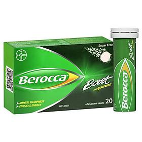 Berocca Boost Energy Vitamin With Guarana Effervescent Tablets 20