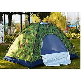 Lều cắm trại 2-3 người 1 lớp màu rằn ri quân đội điphượt, du lịch