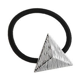 Fashion Elastic Hair Band Rope Hair Accessories with Triangle Decor