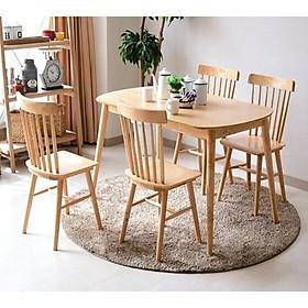 Bộ bàn ghế Pinnstol dành cho phòng ăn với thiết kế tinh tế sang trọng