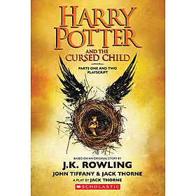 Harry Potter And The Cursed Child - Parts One And Two (English Book) (Scholastic Edition)