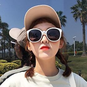Kính mát chữ V phong cách Hàn Quốc bảo vệ mắt chống tia UV