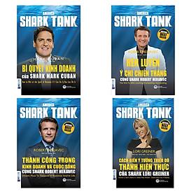Combo 4 Cuốn Shark Tank (Bí Quyết Kinh Doanh + Rèn Luyện Ý Chí Chiến Thắng + Thành Công Trong Kinh Doanh Và Cuộc Sống + Cách Biến Ý Tưởng Triệu Đô Thành Hiện Thực) (Quà Tặng: Bút Animal Kute')