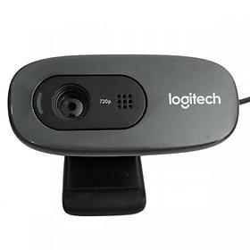 Webcam Logitech C720 HD 720P - Hàng Chính Hãng (Tặng kèm cáp OTG Ugreen)