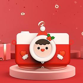 Mengbao Shoot C1 Children Digital Camera Mini Little Girl Boy Baby Toy Real SLR Fun Cartoon Digital Camera Birthday New Year Gift C1 Snowman Baby 32G