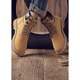 Giày boot nam dáng đẹp đơn thuần dễ phối thời trang-0096801