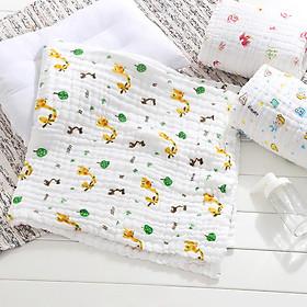 Khăn tắm xô 6 lớp siêu mềm, siêu thấm cho bé