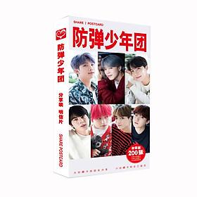 Bộ bưu thiếp ảnh thẻ BTS mới nhất 2019