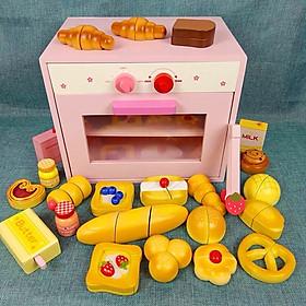 Đồ chơi Lò nướng mẫu nhiều bánh