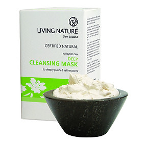Mặt Nạ Đất Sét Living Nature Deep Cleansing Mask (Hộp 10 Gói 5ml)