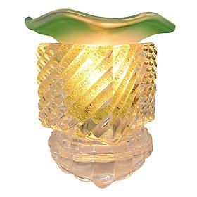 Đèn Xông Tinh Dầu Thủy Tinh MAC03 - Xanh Ngọc