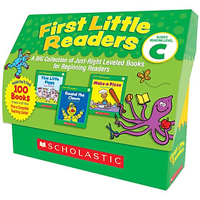 First Little Readers: Guided Reading Level C (Classroom Set)