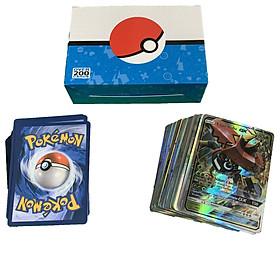 Bộ Thẻ Bài Pokemon 200 Thẻ (200Gx) Chơi Đối Kháng New Đẹp