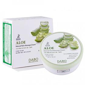 Kem massage mát xa da mặt căng mịn dưỡng trắng tinh chất lô hội ALOE DABO hàn quốc ( 200ml)