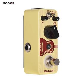 Mooer WoodVerb Acoustic Guitar Reverb Pedal Digital Reverb Pedal Reverb/Mod/Filter Modes True Bypass Micro Series