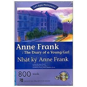 Combo Happy Reader - Nhật ký Anne Frank (Sách Kèm CD)