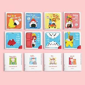 Combo 2 bộ Ehon Giri - Chú bé cơm nắm và Điều kỳ diệu của cảm xúc - Ehon Nhật Bản cho bé 2-6 tuổi