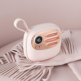 Máy sưởi ấm mini cầm tay thông minh đáng yêu Dodocool – Máy sưởi ấm tay cao su tự nhiên ấm đều hai mặt, sử dụng 6-8 giờ liên tục, kiêm sạc dự phòng tiện dụng (Hàng chính hãng)