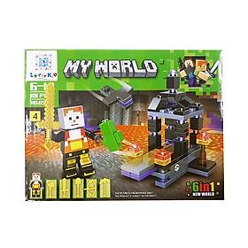 Bộ Xếp Hình - My World - 656 (LI46) - Mẫu 4