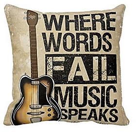 Áo Gối Hoạ Tiết Guitar