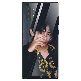 Ốp điện thoại kính cường lực cho máy Samsung Galaxy Note 10 Plus - Tôi Yêu B.T.S MS TYBTS015