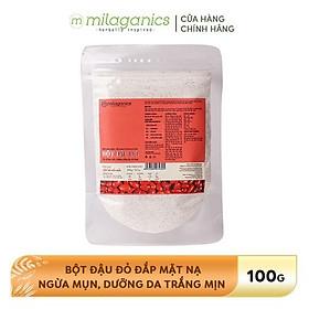 Bột Đậu Đỏ Nguyên Chất Milaganics (100g)