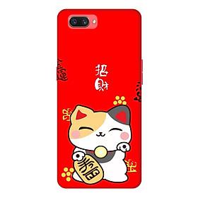 Ốp lưng điện thoại Realme C1 hình Cô Gái Hoa Hồng