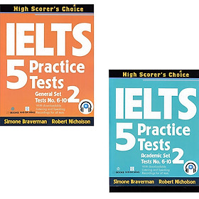IELTS 5 Practice Tests: General + Academic Set 2