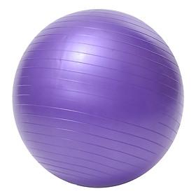Bóng Tập Yoga Trơn Best Sport DK065TIM (65cm) - Tím + Tặng Kèm Bơm