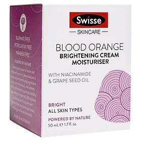Swisse Skincare Blood Orange Brightening Cream Moisturiser 50ml