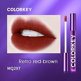 Colorkey Air Lip Glaze Velvet Series—Purple Tube