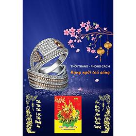 In Lịch Gỗ Tết Treo Tường Laminate 2021 Dành Cho Tiệm Vàng - Thời Trang - Phong Cách Rạng Ngời Tỏa Sáng (40 Cm x 60 Cm)