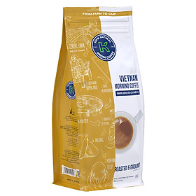 Cà Phê Rang Xay K Coffee VietNam Morning 454g