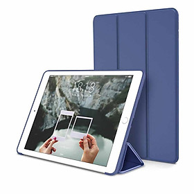 Bao da silicone dẻo - Smart cover dành cho iPad Mini 123/ iPad Mini 4/ iPad Air/ iPad Air 2/ iPad New 2017/ iPad Pro 9.7/ iPad 234/ iPad Pro 10.5