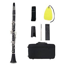 Kèn Clarinet Bb Flat Kèm Bộ Phụ Kiện