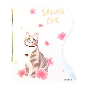 Kệ Chặn Sách Xếp - Sakura Cat - 6239
