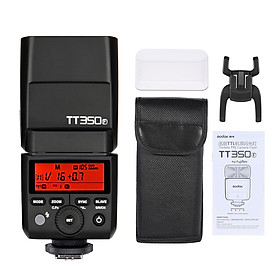 Đèn Flash Godox TT350F Mini Không Dây Cho Dòng ILDC FUJIFILM X-Pro2, X-T20, X-T2, X-T1, X-Pro1, X-T10, X-E1, X-A3, X100F, X100T (2.4G)
